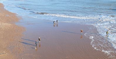 Photo: Sidmouth beach