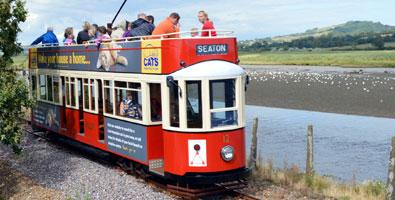 Photo: The Seaton tramway