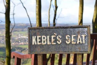 Photo: Keble's seat on Mutter's Moor
