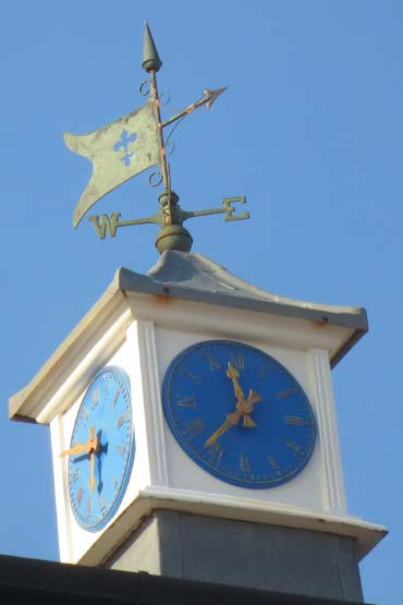Photo: The clock tower at Connaught Gardens