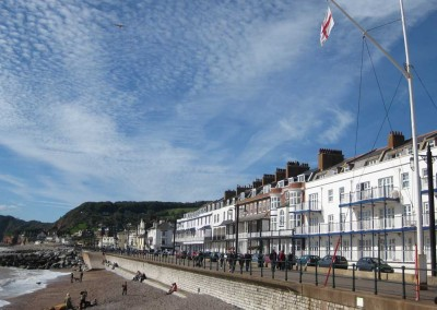 Sidmouth sea front