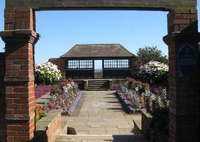 The Connaught Gardens sunken garden