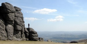 Photo: Haytor on Dartmoor, Devon