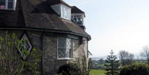 Photo: A La Ronde house, near Exmouth