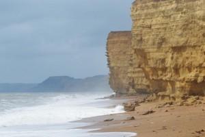 Photo: The cliffs at Burton Bradstock