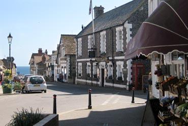 Photo: Beer village centre