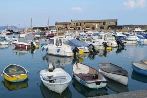 Photo: The Harbour at Lyme Regis