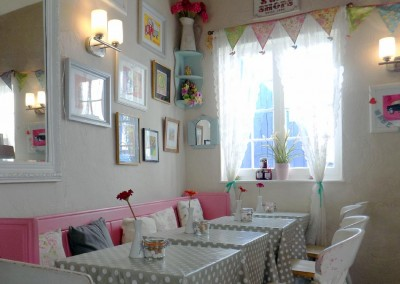 Selley's Coffee shop in Sidmouth
