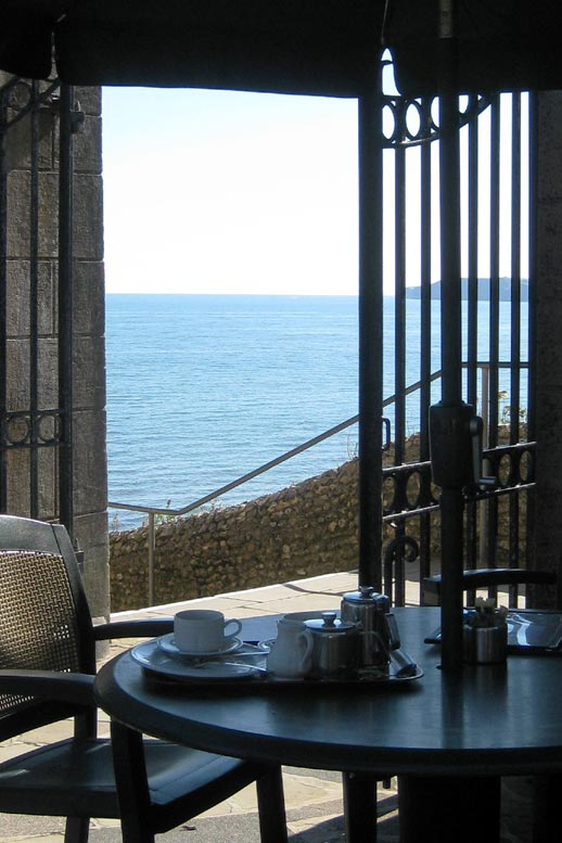 Photo: Sea view from the Clock Tower Cafe