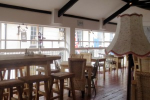 Photo: The Loft restaurant, Sidmouth