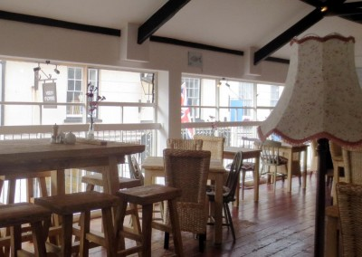 The Loft restaurant, Sidmouth