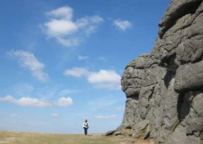 Walking near Haytor, Dartmoor