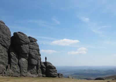 Looking South across Devon from Haytor, Dartmoor