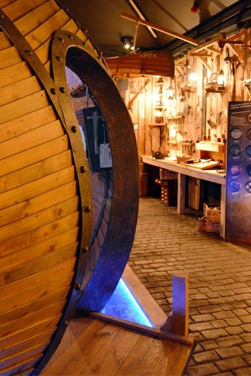 Photo: The time machine at Seaton Jurassic