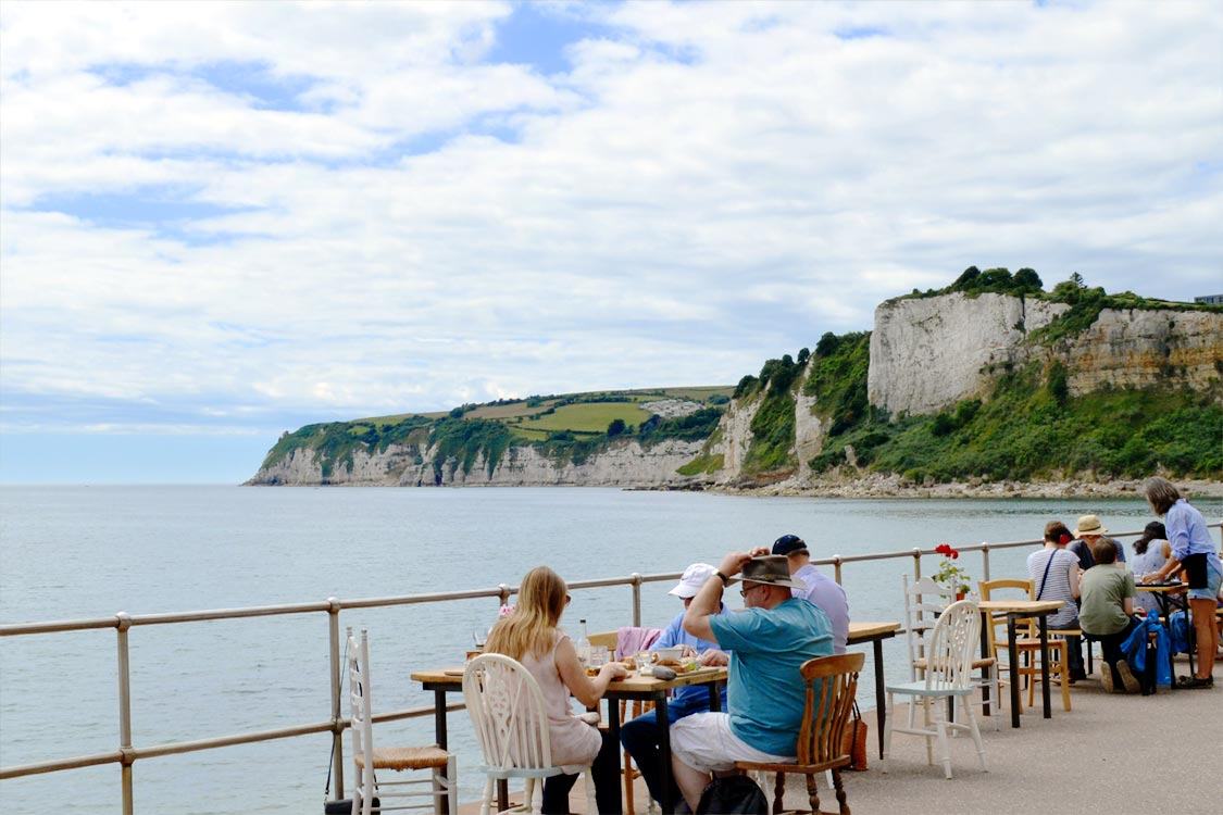 Photo: Looking to Beer Head from the Chine