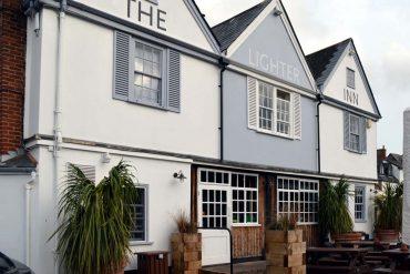 Photo: The Lighter Inn at Topsham quay
