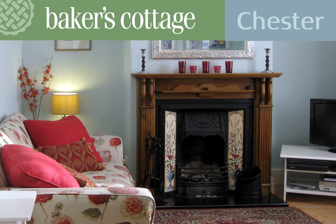 Photo: Baker's Cottage, self-catering accommodation, Chester