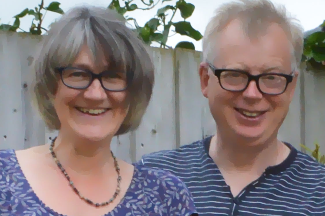 Photo: Cottage owners Peter and Jo Cunningham