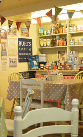 Photo: The Dairy Shop in Sidmouth