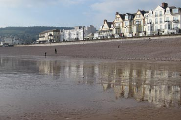 Photo: Sidmouth sea front