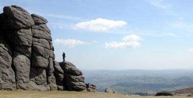 Photo: Haytor on Dartmoor, Devon