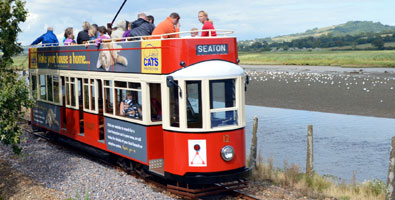 Photo: The Seaton tramway