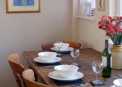 Photo: Kitchen dining table seats four