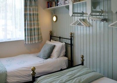 Photo: The twin bedroom