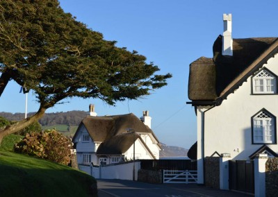 Thatched houses on Peak Hill