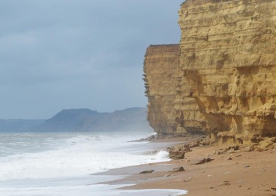 Photo: The cliffs at Burton Bradstock