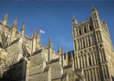 Photo: Exeter cathedral