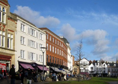 Photo: Cathedral Close, Exeter