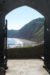 Photo: Jacob's Ladder beach from the Connaught Gardens