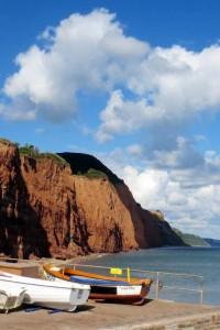 Photo: Looking East along the coast
