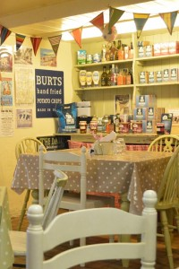 Photo: The Dairy Shop cafe in Sidmouth