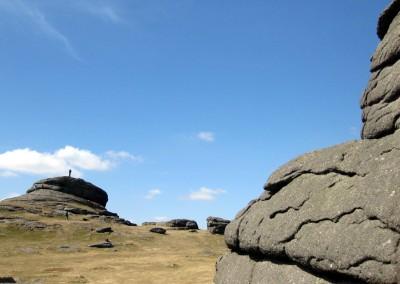 Exploring Haytor, Dartmoor