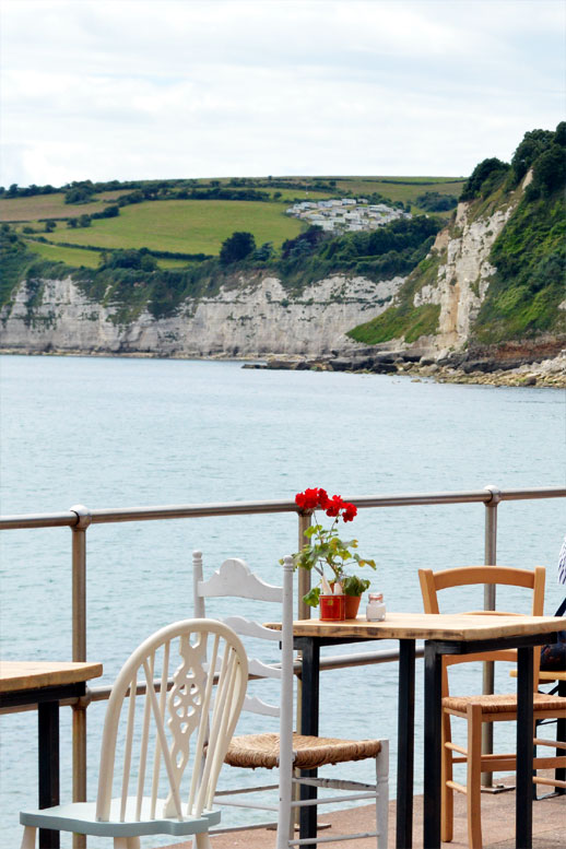 Photo: Views across Seaton Bay from the Hideaway