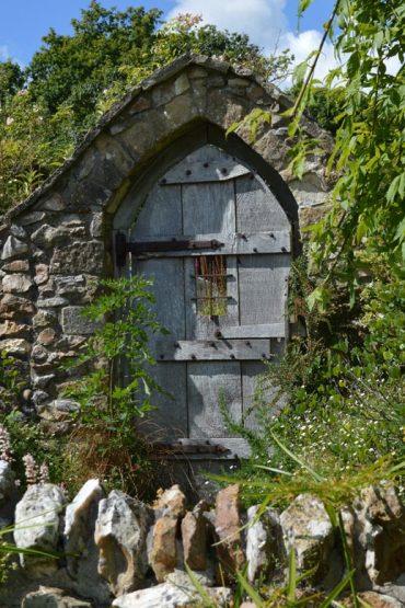 Photo: Doorway at Burrow Farm Gardens