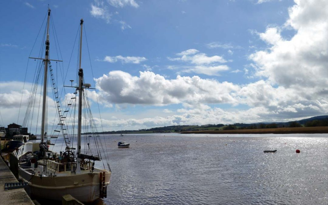 Topsham – an historic port on the River Exe