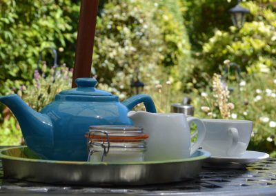 Photo: Afternoon tea in the garden