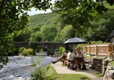 The Fingle Bridge pub