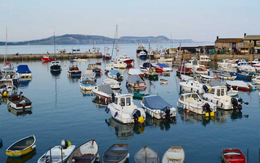 Photo: Lyme Regis harbour