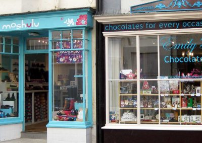 Photo: Some of Sidmouth's shops