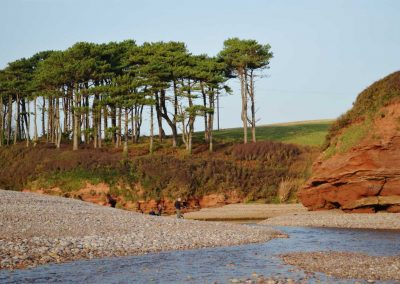 The river Otter at Budleigh