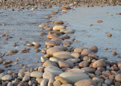 Photo: Pebbles on Budleigh beach