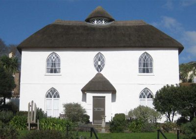 The Fairlynch museum in Budleigh Salterton